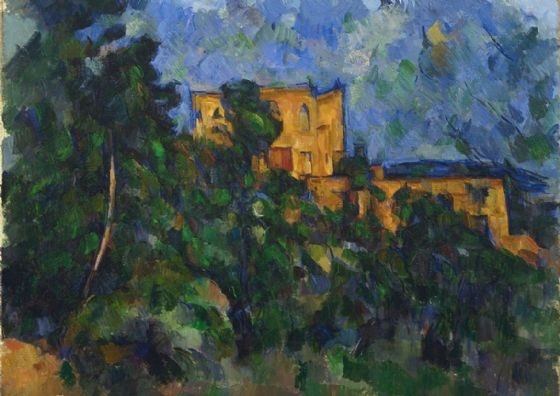 Cezanne, Paul: Château Noir/Castle Black. Fine Art Print/Poster. Sizes: A4/A3/A2/A1 (004220)